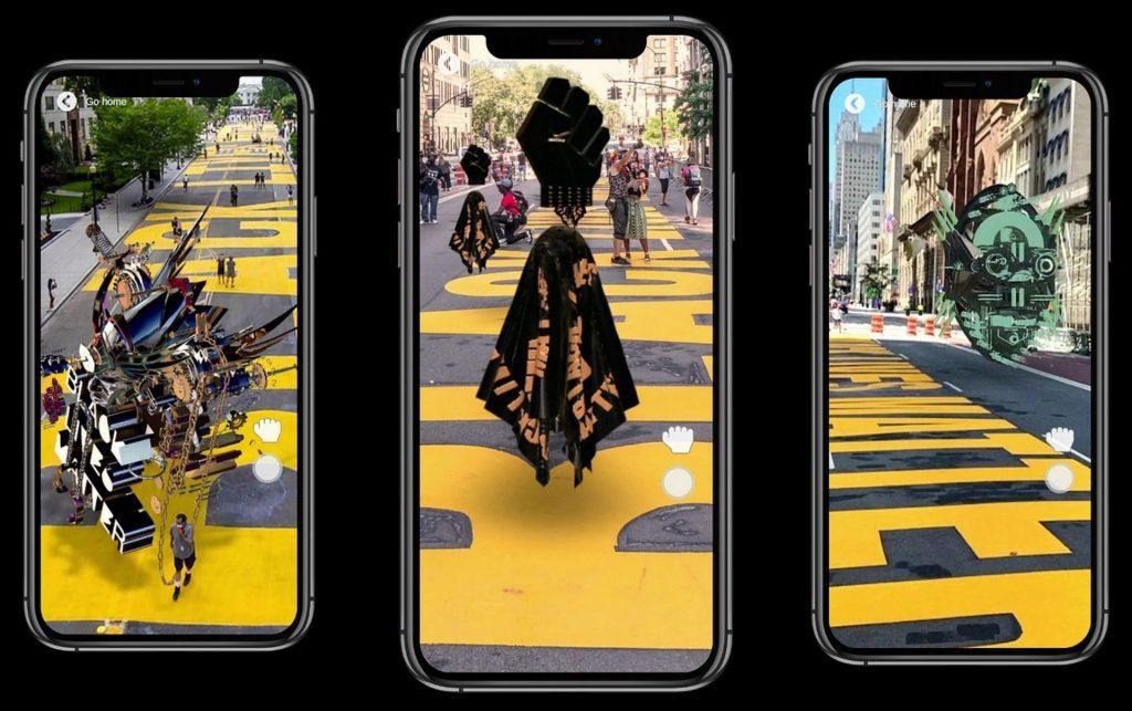 artechouse black digital art augmented reality