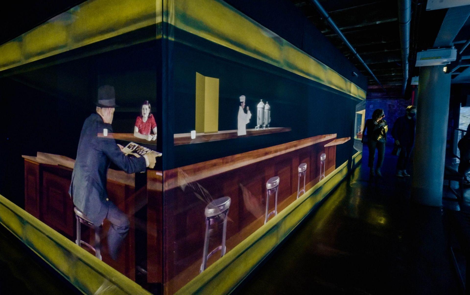 artechouse bar illusion immersive art new york city